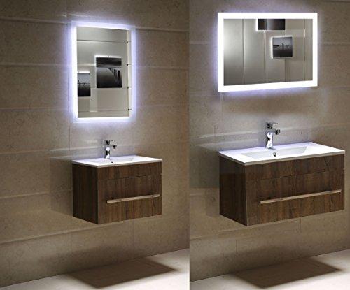 Badspiegel Tageslicht LED – 80 x 60 cm kaltweiß - 3