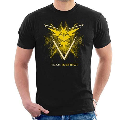 6046565b756d5b Cloud City 7 Pokemon Go Team Instinct Electric Logo Men s T-Shirt