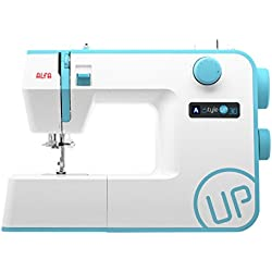 Alfa STYLE UP 30 - Máquina de coser, color azul