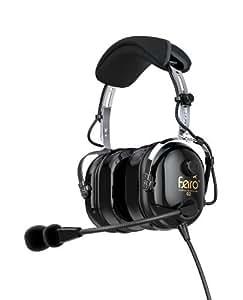 Faro G2 - Premium Pilot Aviation Headset, w/ Mp3 Input BLACK Portable Consumer Electronic Gadget Shop