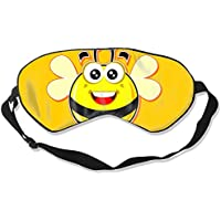 Natural Silk Eyes Mask Sleep Cute Bee Blindfold Eyeshade with Adjustable for Travel,Nap,Meditation,Sleeping,Shift... preisvergleich bei billige-tabletten.eu
