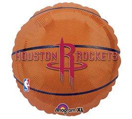 Anagram International Houston Rockets Flat Party Balloons, 18