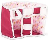 Götz Happy Flowers Fahrradsitz, zur Anbringung am Lenker, Puppenzubehör für Baby- & Stehpuppen 27 - 50 cm, H18 x B20 x T20 cm, Spielzeug für Kinder ab 3 Jahren