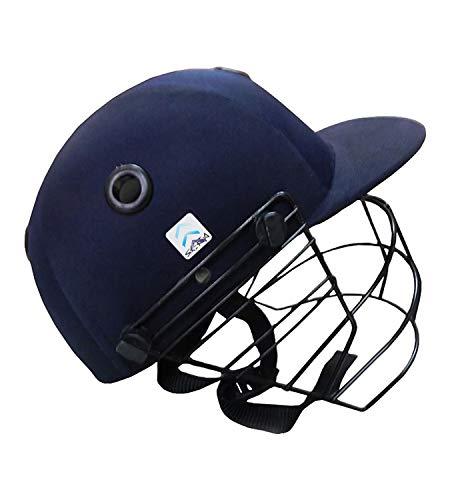 Skera S1320142 Men's Cricket Helmet Practice (XS, S, M, L, XL, Blue) (S)