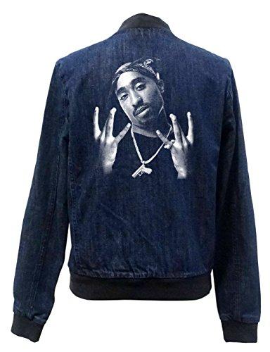 Tupac Westcoast Jeans Bomberjacke Girls Certified Freak-S
