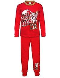 Liverpool FC - Pijama oficial para niño - Rojo