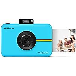 Polaroid Snap Touch - Appareil Photo Numérique à Impression Instantanée avec Écran LCD et Technologie d'Impression sans Encre Zink, Bleu