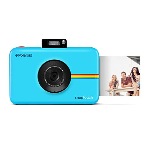 Polaroid Snap Touch Instant Print Digital Camera (Blue) with LCD Display and Zink Zero Ink Printing Technology