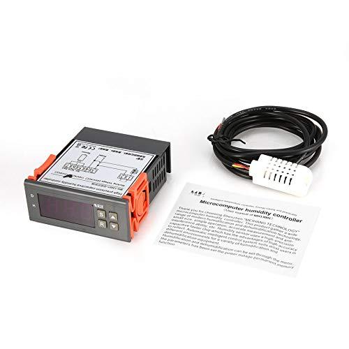 KNOSSOS MTC1000A Digital Humidity Controller Hygrometer Dehumidify Switch Relay - Gray