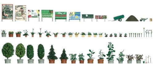busch-1211-blumen-und-pflanzkubel-set-giocattolo