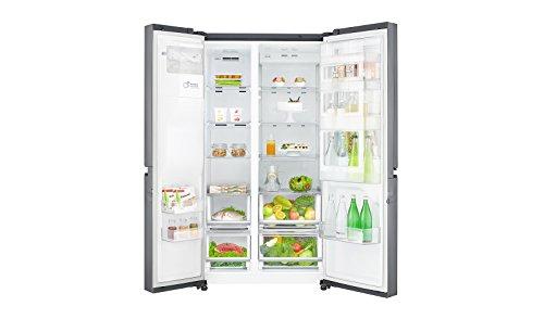 Side By Side Kühlschrank Ice Crusher : Lg electronics gsj pzuz side by side kühlschrank mit