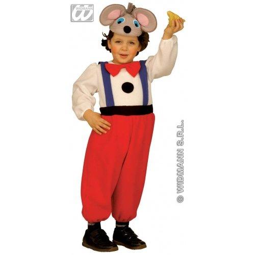 Widmann-WDM3619G Kostüm für Kinder, Unisex, Orange Schwarz, WDM3619G (Duo-kostüm-ideen Mädchen Für)