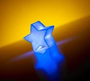 IGlow - Lampe Decorative a LED Forme Etoile - Changement de Couleur Automatique - Piles incluses