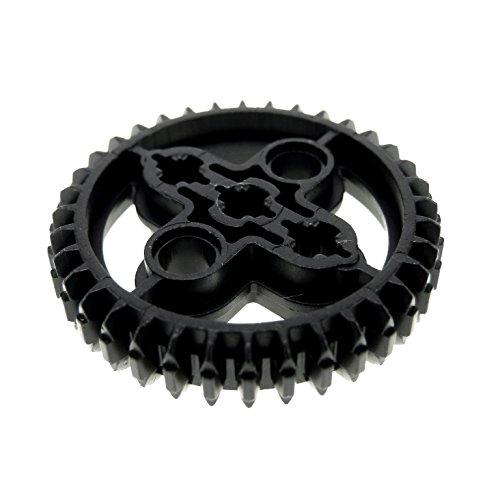 Bausteine gebraucht 1 x Lego Technic Zahnrad schwarz 36 Zähne Rad Technik Double Bevel Set 9398 41999 75187 8527 31313 7784 4958 4177434 32498