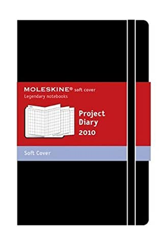 Project Planner Pocket 12m Accordian (Moleskine Srl) (Moleskine Legendary Notebooks (Calendars)) - 2010 Planner
