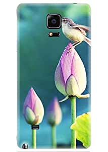 Spygen Premium Quality Designer Printed 3D Lightweight Slim Matte Finish Hard Case Back Cover For Samsung Galaxy Note 4
