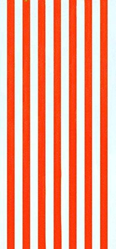 Cabana Streifen orange Farbe Velours brasilianisches Strandtuch 76,2x 152,4cm - Cabana Streifen Strand Handtuch