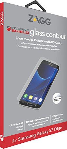 Zagg InvisibleShield CLE Contour Glass per Samsung Galaxy S7Edge Trasparente