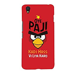 ColourCrust OnePlus X Mobile Phone Back Cover With Quirky Punjabi Slangs - Durable Matte Finish Hard Plastic Slim Case