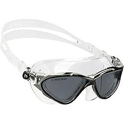 Cressi Planet - Gafas de natación, Gris/Plateado, talla única