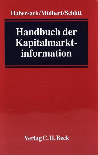 Handbuch der Kapitalmarktinformation