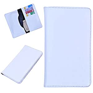 DCR Pu Leather case cover for Oppo Find 7 (white)