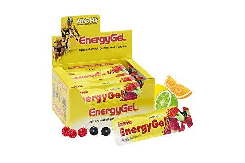 High5 Energy Gel Juicy Orange (Box of 20), 1er...