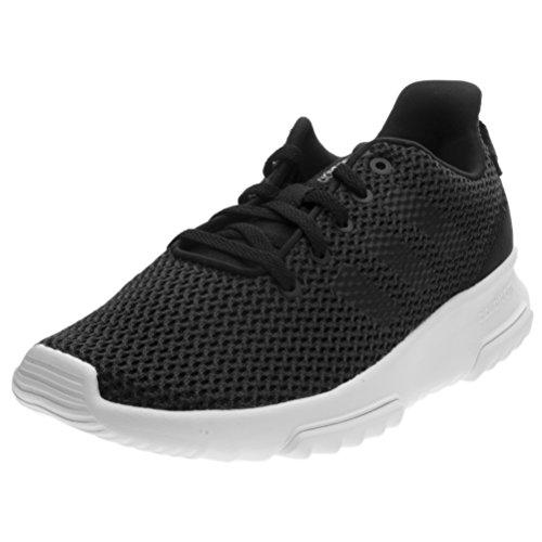 adidas Unisex-Kinder CF Racer TR K Turnschuhe, Black (Neguti/Negbas/Ftwbla), 36 2/3 EU (Schuhe Kinder Adidas)