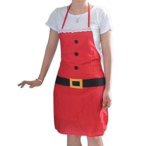 LUFA Erwachsener Schürze Weihnachtsfeiertags Geschenk Zusatz Schellfisch Chef Küche Koch Restaurant Werkzeug