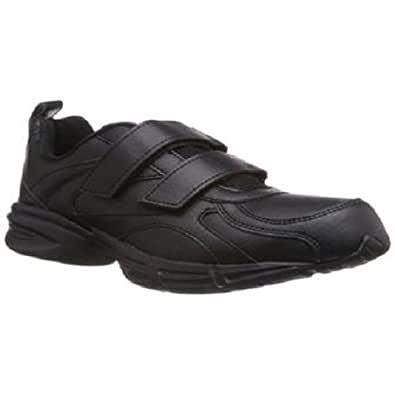 Relaxo Sparx Black Laces School Shoes
