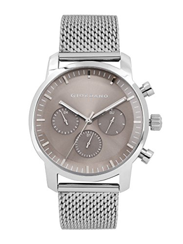 Giordano Multifunction Silver Dial Men's Watch - 1797-11 image