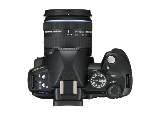 Olympus E-520 SLR-Digitalkamera (10 Megapixel, LifeView, Bildstabilisator) Kit inkl. 14-42mm & 40-150mm Objektive - 5