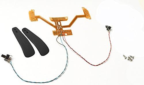 PS4 Controller Remap Board | V2 | V3 | Remapper *einbaufertig* Set #1 ... (Remap Board JDM 001-031, schwarz)