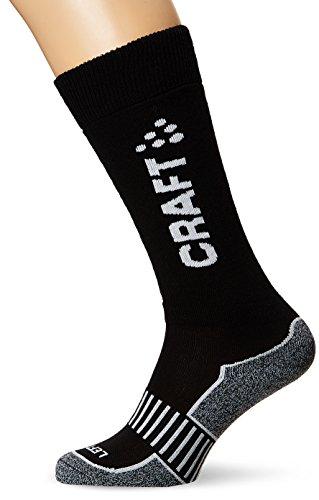 Craft, Calzini sportivi termici, 2 pz., Nero (Black), 44/46