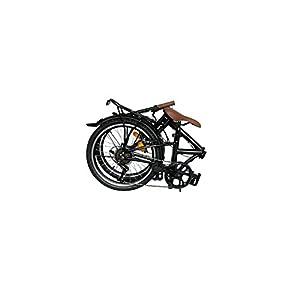 ECOSMO 6SP 20F01BL - Bicicleta de ciudad plegable, rueda de 20 pulgadas