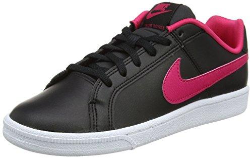 purchase cheap 4f9f4 fab24 Nike Mädchen Court Royale (GS) Sneaker, Schwarz (Black Rush Pink-
