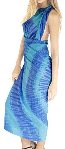 impacco pareo gonna costume da bagno beachwear coprire donne costumi da bagno di usura piscina sarong resort costume da bagno di usura Turchese 1