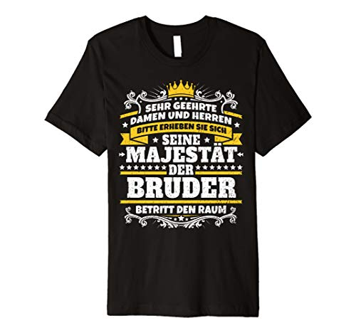 Lustiges Bruder Geschenk I Familie Geschwister T-Shirt