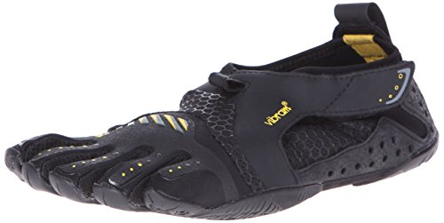 Vibram FiveFingers Damen Signa Outdoor Fitnessschuhe Mehrfarbig (Black/Yellow)), 40 EU