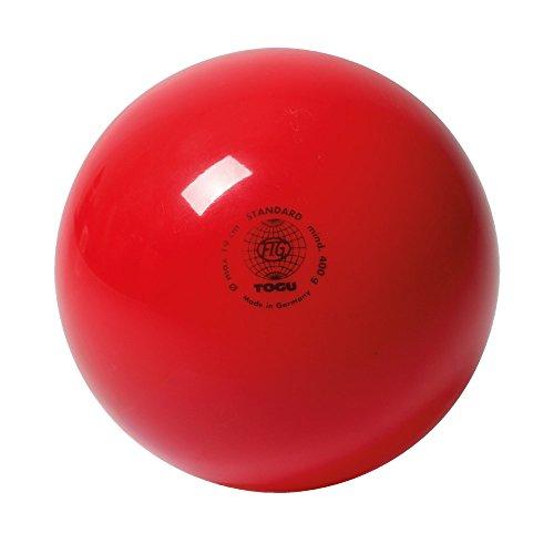 Togu Gymnastikball Standard Unlackiert, Rot, 16, 430402