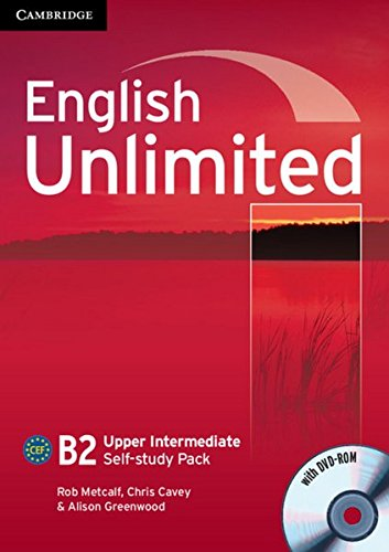 English Unlimited B2: Self-study Pack with DVD-ROM
