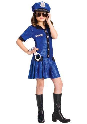 POLICE GIRL CHILD 8-10 by Fun World