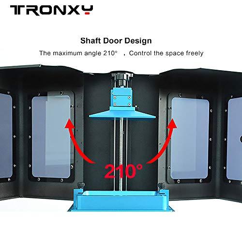 TRONXY Ultrabot SLA 3D-Drucker mit Touchscreen, 5,5-Zoll-Bildschirm zum schnellen Schneiden von Druckgröße 4. 65 x 2,6 x 7,08 Zoll - 5