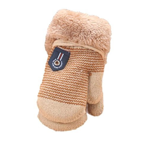 Coupon Matrix - Muium Cute Thicken Hot Infant Baby Girls Boys Of Winter Warm Gloves For 0-4 Years (Beige)