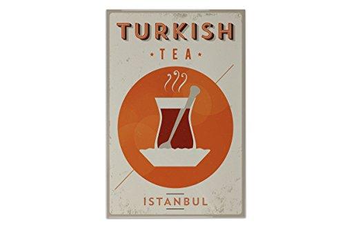 Fliese Kachel Retro Limonade Küche Türkischer Tee Keramik bedruckt 20x30 cm