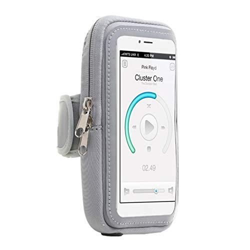 Floridivy Radfahren Laufen Touch-Screen-Arm-Band-Handy-Halter-Sport-Arm-Beutel Fitness Gym Taschen Band-touch-screen
