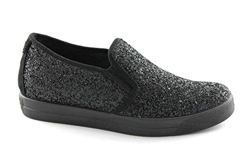 Igi & Co 47890 Noir Chaussures Femme Elastique Sneaker Slip On Glitter Noir