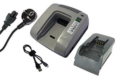 Preisvergleich Produktbild PowerSmart® 14,40V-20V Ladegerät für Black & Decker LDX120C, LDX120SB, LGC120, LHT2220, LLP120, LMT16SB-2, LPHT120, LST120, LST220, LSW20, MFL143K, MFL143KB, SSL20SB, SSL20SB-2, BL1114, BL1314, BL1514, LB16, LB20, LBX20, LBXR20, 90553172 (Grau)