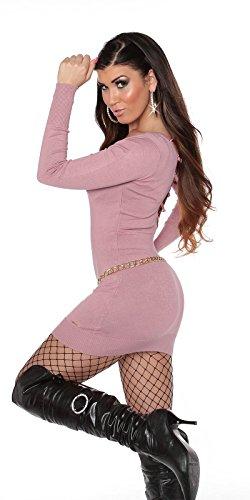 In-Stylefashion - Robe - Femme rose Rose foncé One Size Rose foncé