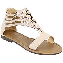 By Shoes - Sandale Plate Style Bohème - Femme
